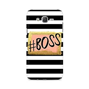 Ebby The Boss Premium Printed Case For Samsung J1