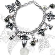 Poison Ivy Charm Bracelet by Alchemy Gothic