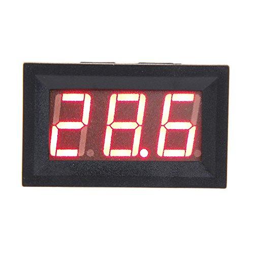 Vakind® V27D Electrombile Dc4.5-150V Voltmeter Red Led Digit Display Two Wires