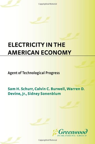 Electricity In The American Economy: Agent Of Technological Progress (Contributions In Economics And Economic History)