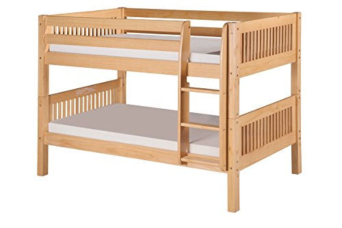 Low Loft Bed With Storage 7711 front