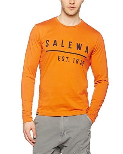 Salewa Camiseta Manga Larga Binne Co M L/S Gris