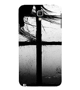 PrintVisa Couple Window Design 3D Hard Polycarbonate Designer Back Case Cover for Samsung Galaxy Note 3 Neo