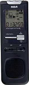 RCA VR5320R 1GB Digital Voice Recorder