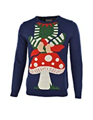 Unisex Elf Novelty Christmas Jumper