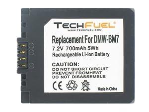 Panasonic Lumix DMC-FZ4 Digital Camera Replacement Battery - TechFuel Professional CGA-S002, CGR-S002, DMW-BM7 Battery