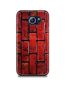 Red Bricks Samsung S6 Case