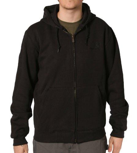 Carhartt EK185 Zip Sweatshirt Black Mens Hoodie Hooded Top