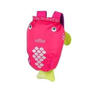 Trunki PaddlePak Water-Resistant Backpack - Flo (Pink) from Trunki