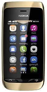 Nokia Asha 308 Dual Sim, Oro
