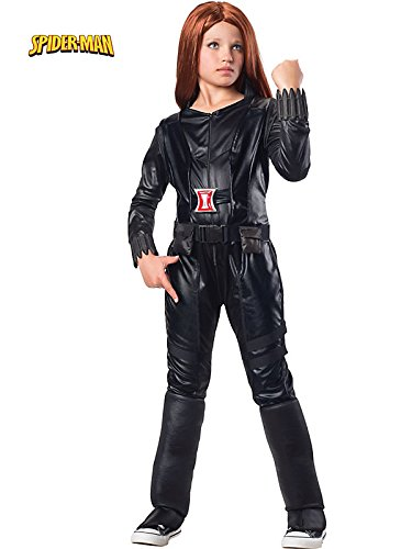 Rubies Marvel Collection: Captain America:Winter Soldier Dlx Black Widow Costume