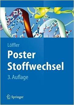 Poster Stoffwechsel (Springer-Lehrbuch) (German Edition) (German) 3rd