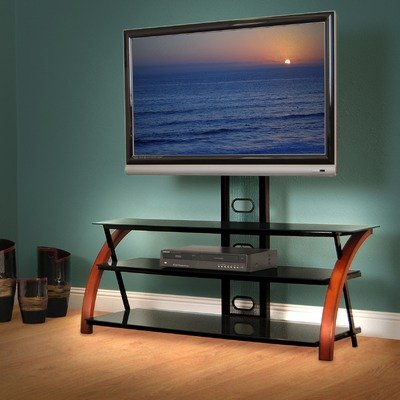 Cheap AvistaUSA Titans Innovate Series Titans 50″ TV Stand with Swivel and Tilt Mouting System in Dark Mahogany (Titans)