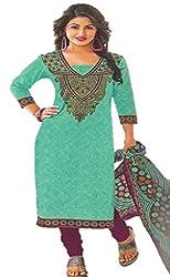 Design Willa Classic Cotton Dress Material (DW079)