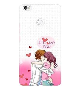EPICCASE I Love You Mobile Back Case Cover For Xiaomi Mi Max (Designer Case)