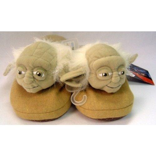 Star Wars Yoda Pantofole Grandi 10.5/11 / di Star Wars Yoda pantofole L (10,5 / 11) (Giappone import / il pacchetto e il manuale sono scritte in giapponese)