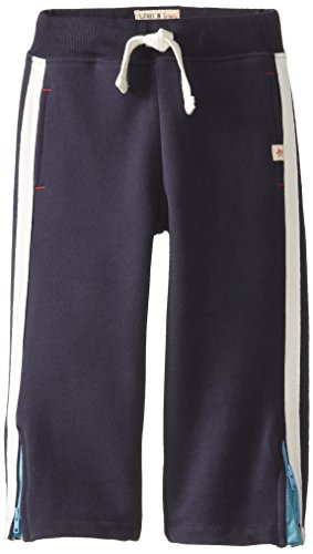 Hatley Little Boys' Track Pants, Blue, 4 front-945857