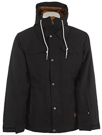 Buy Bonfire Morris Snowboard Jacket Black Mens by Bonfire