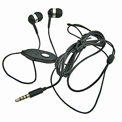 3.5Mm Ear Buds Headset Black For Samsung Galaxy S Relay 4G T699, Galaxy Victory 4G Lte Sph-L300, Galaxy Note Ii Gt-N7100, Galaxy Rugby Pro I547/ Array Sph-M390