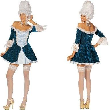 Beautiful Madame Magnafique French Noble Costume Dress (Wig & Stockings not included)
