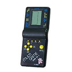 Tukknu Hand Held 9999 In 1 Battery Operated Brick Game Set For Kids