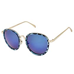 Chevera StyleCrush blue Oversized Sunglasses
