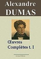 Alexandre Dumas : Oeuvres compl�tes  - Tome 1 (Romans, contes et nouvelles)