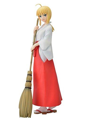"""Fate/hollow ataraxia プレミアムフィギュア """"セイバー""""巫女服Ver."""