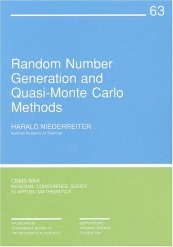 Random Number Generation and Quasi-Monte Carlo Methods...