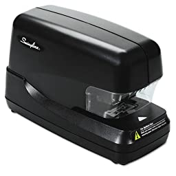 Swingline - Flat Clinch Electric Stapler with Jam Release, 70-Sheet Capacity, Black 69270 (DMi EA