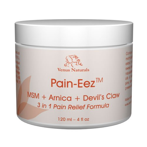 Pain-Eez All Natural Pain Relief Cream with MSM,