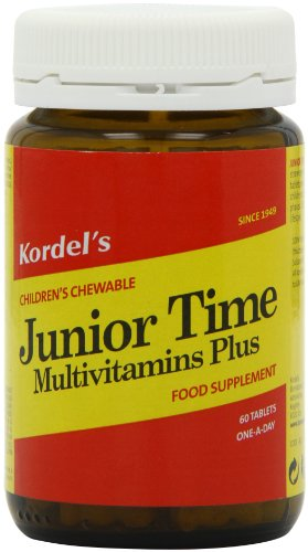 Kordel Nutrition Junior Time Multivitamins 60 Tablets Pack of 2