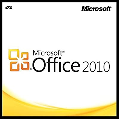 Microsoft Office 2010 Home & Business SP1 32/64-bit DVD Media + Product Key / COA