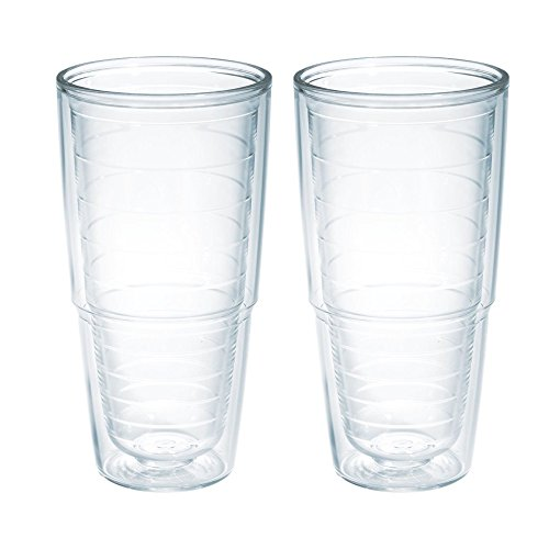 Tervis 24 oz. Big T Clear Tumbler. (2) Pack (Tervis Tumbler Lids Pack compare prices)