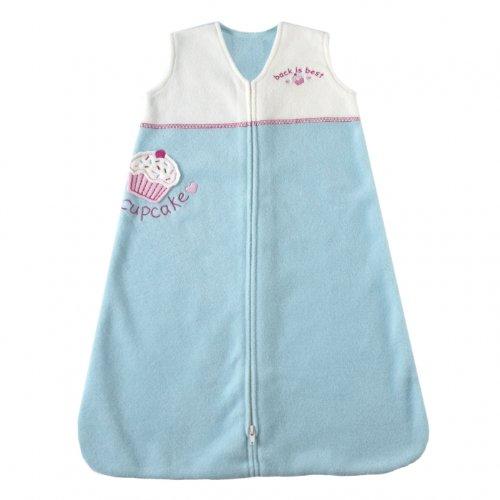 Halo Sleepsack Micro Fleece Wearable Blanket, Turquoise Cupcake, X Large front-3460