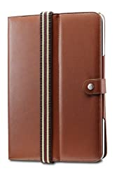 Acase Deluxe Leather Flip Book Jacket/Folio for Apple iPad 3G tablet/Wifi model 16GB, 32GB, 64GB (Brown)