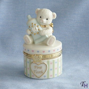 Baby's First Tooth Treasure Box by Lenox - 1