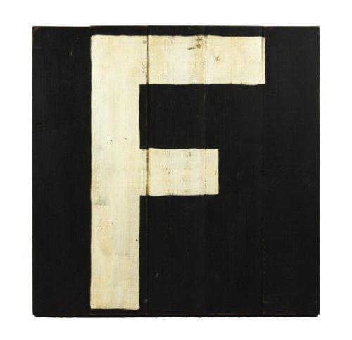 ZENTIQUE Wooden Letter, Monogrammed F