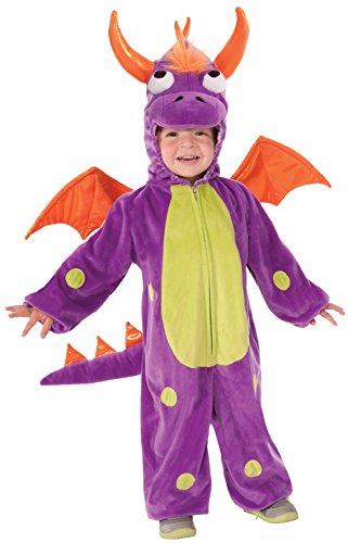 [Kids Purple Monster Child Costume Toddler Size 2-4] (Purple Monster Costumes)