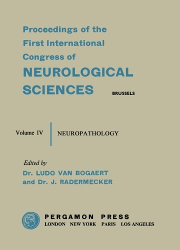 Neuropathology: Brussels, 21-28 July 1957: Volume 4