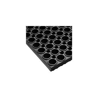 """NoTrax 36X36 BLACK 36"""" x 36"""" San-Eze Floor Mat"""