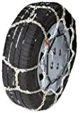 Security Chain Company WS1707 Whitestar Alloy Tire Traction Chain - Set of 2