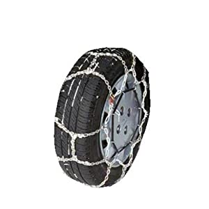 Security Chain Company WS1614 Whitestar Alloy Tire Traction Chain - Set of 2