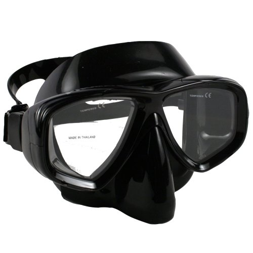 Promate Pro Viewer Purge Mask (Clear, Black/Black)