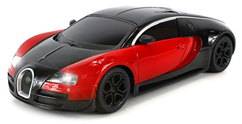 Diecast Bugatti Veyron Super Sport Electric RC Car Full Metal Body 1:24 RTR (Rc Die Cast compare prices)