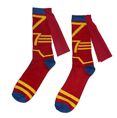 Harry Potter Mens' Gryffindor Quidditch Crew Sock with Cape
