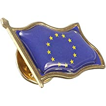 Alcoa Prime New Arrival EU European Union Europe Wavy Flag Lapel Hat Cap Tie Pin Badge Brooch Breastpin Gift For...