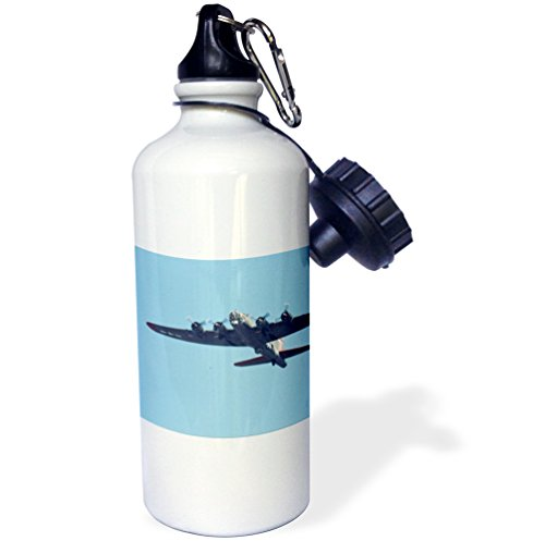 Danita Delimont - War Planes - B-17 G Flying Fortress, War plane - US50 BFR0041 - Bernard Friel - 21 oz Sports Water Bottle (wb_97120_1)