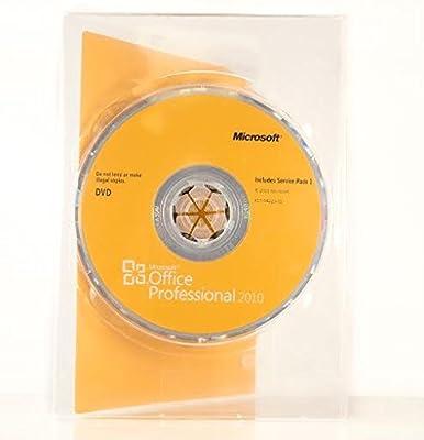 Microsoft Office Professional 2010 - 2PC/1User (DVD Version)