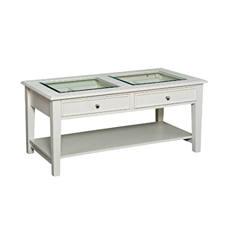 White Cocktail Table